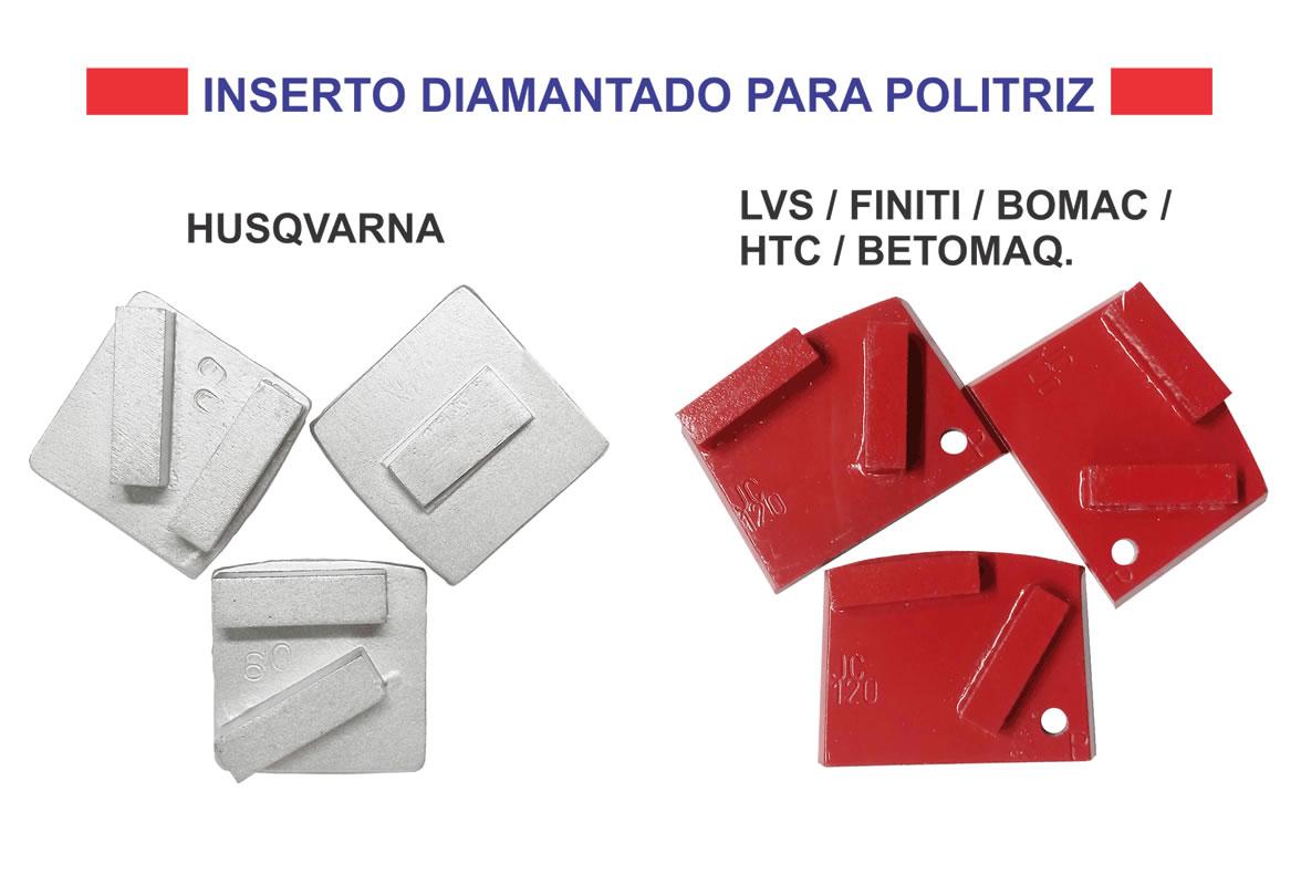 Inserto diamantado em Curitiba